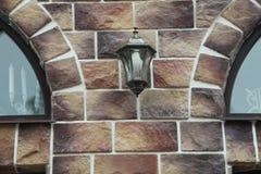 Textura - façade artificial de la piedra decorativa Textura áspera del fondo de la pared de piedra del color gris decorativo Imagen de archivo libre de regalías