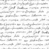 Textura falsificada sem emenda da escrita Fotografia de Stock