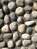 Textura feita das rochas Foto de Stock