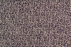 Textura feita malha de lã azul como o fundo fotos de stock royalty free