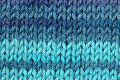 Textura feita malha de lãs Foto de Stock