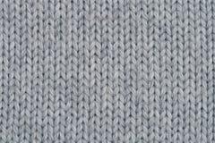 Textura feita malha de lãs. Fotos de Stock