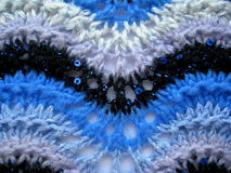 Textura feita malha delicada da tela Fotografia de Stock