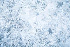 Textura fina fresca do fundo do gelo fotografia de stock royalty free