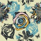 Textura floral Fotos de archivo libres de regalías