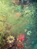 Textura floral Fotografía de archivo libre de regalías