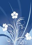 Textura floral Fotografia de Stock Royalty Free