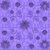 textura floral abstrata do grunge Imagens de Stock Royalty Free