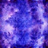 Textura floral carmesim roxa violeta do fundo da alfazema da aquarela Foto de Stock Royalty Free