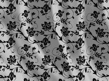 Textura floral de la tela Fotos de archivo