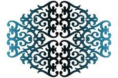 Textura floral do inclinação Imagens de Stock Royalty Free