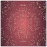 Textura floral do vintage imagens de stock royalty free