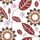 Textura floral hermosa stock de ilustración