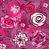 Textura floral hermosa Fotos de archivo