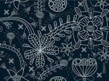 Textura floral inconsútil ilustración del vector
