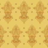 Textura floral inconsútil Imagen de archivo