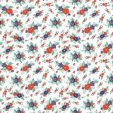 Textura floral infinita ilustração royalty free