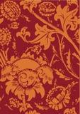 Textura floral modular Two-tone Imagens de Stock