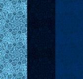 Textura floral ornamentado Imagens de Stock