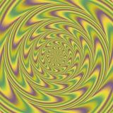 Textura floral psicótico do teste padrão Fotografia de Stock