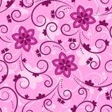 Textura floral rosada Imágenes de archivo libres de regalías