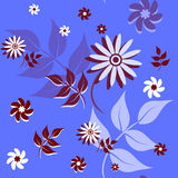 Textura floral sem emenda Fotos de Stock Royalty Free
