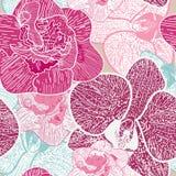Textura floral sem emenda ilustração do vetor