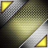 Textura Fluted do metal. Imagens de Stock