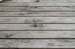Textura focalizada consecutivamente da placa da madeira maciça na tabela Imagem de Stock Royalty Free