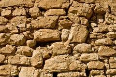 Textura/fondo de la pared de piedra Fotos de archivo