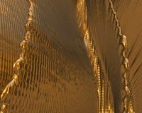 Textura/fondo del oro Fotografía de archivo