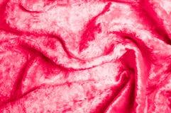 Textura, fondo, modelo Cereza roja aterciopelada del paño Añada el luxu Imagenes de archivo