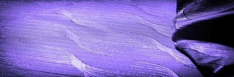 Textura, fondo, modelo color de seda del azul del paño Adorne el yo imagen de archivo libre de regalías