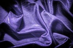 Textura, fondo, modelo color de seda del azul del paño Adorne el yo fotos de archivo libres de regalías