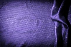 Textura, fondo, modelo color de seda del azul del paño Adorne el yo fotografía de archivo