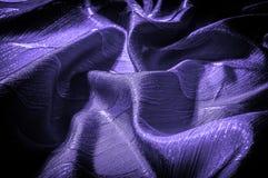 Textura, fondo, modelo color de seda del azul del paño Adorne el yo imagen de archivo