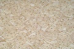 Textura, fondo, modelo Oro beige de la tela del cordón con el sparkl Imagen de archivo