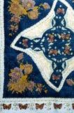 Textura, fondo, modelo Pañuelo de seda negro Con pizca imagenes de archivo