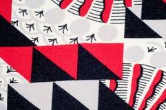 Textura, fondo, modelo Tela hecha punto del diseño abstracto Imagen de archivo