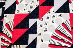 Textura, fondo, modelo Tela hecha punto del diseño abstracto Imágenes de archivo libres de regalías