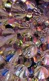 Textura formada hoyuelos del hielo Imagen de archivo libre de regalías