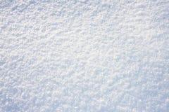 Textura fresca blanca de la nieve, fondo imagen de archivo libre de regalías
