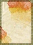Textura fresca del papel de la tinta de Grunge Imagenes de archivo