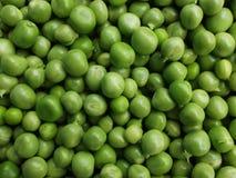 Textura fresca do fundo das ervilhas verdes Imagem de Stock Royalty Free