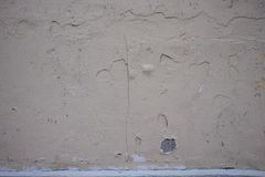 Textura friável velha da parede da pintura imagem de stock