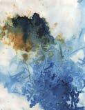 Textura - fundo da textura da cor de água Ilustração Royalty Free