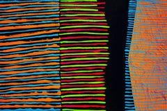 Textura, fundo e imagem colorida de uma pintura abstrata original fotografia de stock