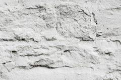 Textura, fundo Fundo Pedra selvagem coberta com o p branco Imagens de Stock