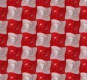 Textura/fundo sem emenda, twirls esquadrados Fotos de Stock Royalty Free