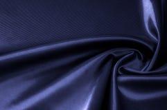 Textura, fundo, teste padrão Cobalto de seda da cor da tela, smalt, b Imagens de Stock Royalty Free
